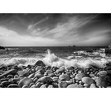 Cot Valley Porth Nanven 5 Black and White Photographic Print