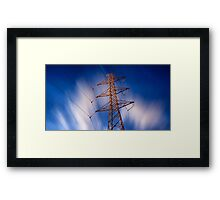 Everything can be beautiful in the right light Framed Print