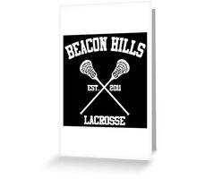 Beacon Hills Greeting Card