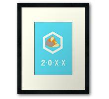 20XX Fox Framed Print