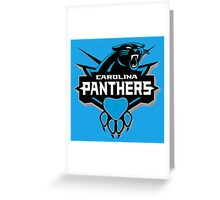 Carolina Panthers Greeting Card