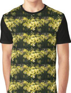 Sunny Daffodil Garden - Enjoying the Beauty of Spring Graphic T-Shirt