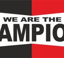 champions  Sticker