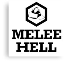 Melee Hell Canvas Print