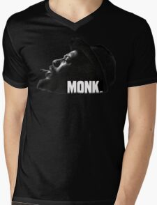 Thelonious Monk Mens V-Neck T-Shirt