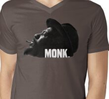 Thelonious Monk Mens V-Neck T-Shirt