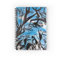 Forest by the sea Spiral Notebook