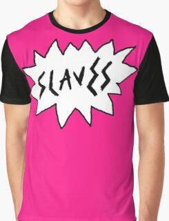 Slaves - Logo Graphic T-Shirt