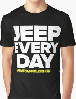 Jeep Every Day Graphic T-Shirt