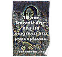 All Our Knowledge - da Vinci Poster