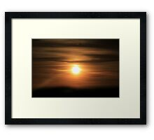 Sunset #10 Framed Print