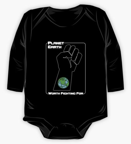 Planet Earth -- Worth Fighting For One Piece - Long Sleeve