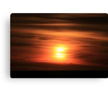 Sunset #11 Canvas Print