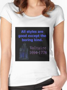 All Styles Are Good - Voltaire Women's Fitted Scoop T-Shirt