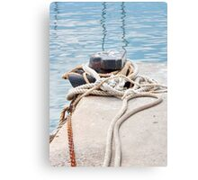 Ropes & Chains Canvas Print