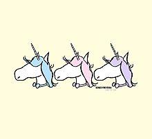 Pastel Unicorns by rosesforrosa