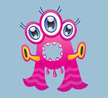Cartoon monster letter A  Unisex T-Shirt