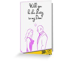 Valentine's Day Card: Fast & Furious Love Greeting Card