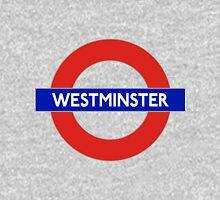 Westminster abby underground sign Unisex T-Shirt