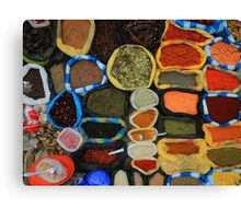 Colorful Spices Canvas Print