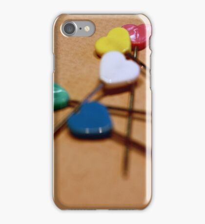 Heart Pins iPhone Case/Skin