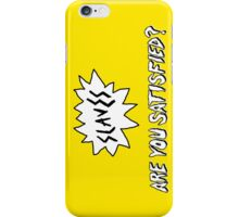 Slaves - Logo (Are You Satisfied?) iPhone Case/Skin