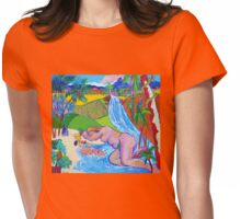 Paradise Queensland Style Womens Fitted T-Shirt