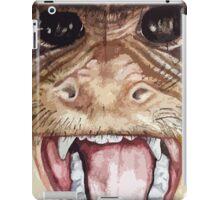 Screaming monkey iPad Case/Skin