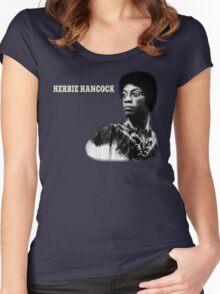 Herbie Hancock T-Shirt Women's Fitted Scoop T-Shirt