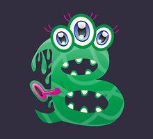 Cartoon monster letter B Unisex T-Shirt
