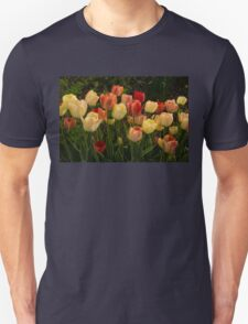 Multicolored Tulips - Enjoying the Beauty of Spring T-Shirt
