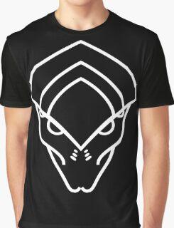 Mass Effect - Javik (White) Graphic T-Shirt