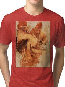 Firefly Urban Abstract Art Tri-blend T-Shirt