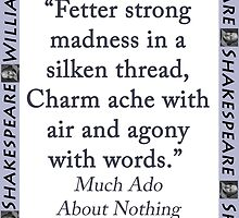 Fetter Strong Madness - Shakespeare by CrankyOldDude