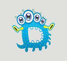 Cartoon monster letter D Unisex T-Shirt