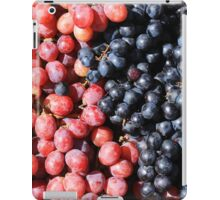 Purple and Red Grapes iPad Case/Skin