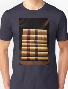 Stack of antique books Unisex T-Shirt