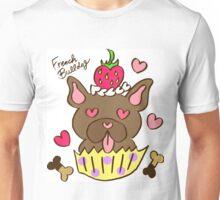 French Bulldog Cupcake - Brindle Unisex T-Shirt