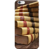 Antique books with a twist iPhone Case/Skin