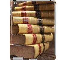 Antique books with a twist iPad Case/Skin