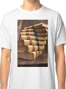 Antique books with a twist Classic T-Shirt