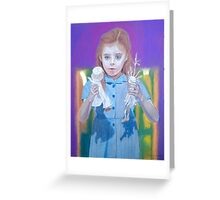 Once upon a time - Matilda dolls Greeting Card