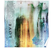 Tower Of Love Abstract Poster