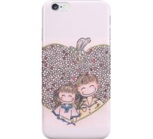 Flowers in my heart iPhone Case/Skin
