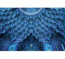 The domes of Majid-e-Shah , Isfahan, Iran Photographic Print