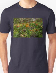 Untamed Tulip Garden - Enjoying the Beauty of Spring T-Shirt