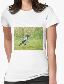 Hooded Crow Womens Fitted T-Shirt