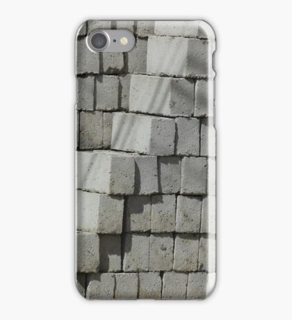 Stacked Concrete Bricks iPhone Case/Skin