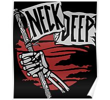neck deep flag music Poster