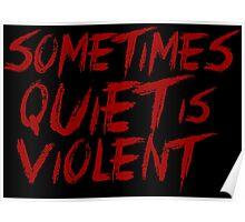 Twenty One Pilots - Violent Poster